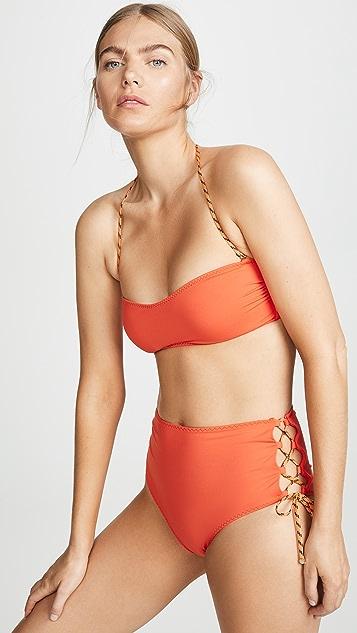 Stella McCartney Lacing Bikini Top