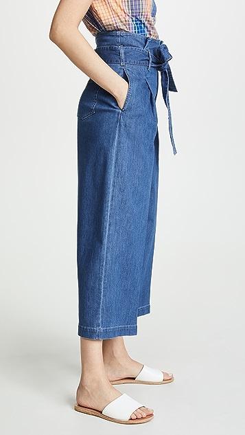 Stella McCartney Paperbag Waist Jeans