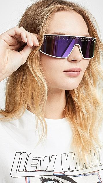 Stella McCartney Stella Logo Shield Sunglasses