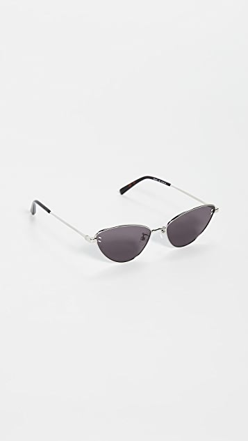 Stella McCartney Stella Essentials Narrow Cat Eye Sunglasses
