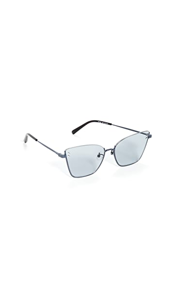 Stella McCartney Солнцезащитные очки «кошачий глаз» Stella Essentials