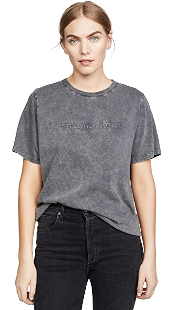 Stella McCartney Black Denim Wash Tee