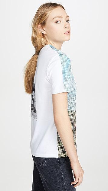 Stella McCartney T-Shirt Halftone Horse Jersey