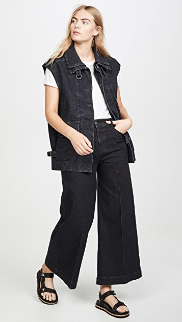Stella McCartney Waistcoat Organic Extreme Black