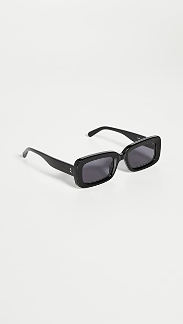 Stella McCartney 90's Rectangular Frame Sunglasses