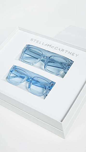Stella McCartney Mum & Me Flat Top Sunglasses