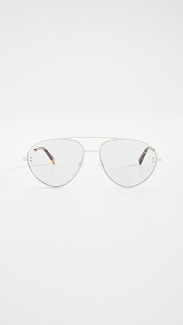 Stella McCartney Stella Essentials 飞行员太阳镜