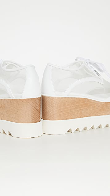 Stella McCartney Прозрачная обувь Elyse на шнуровке