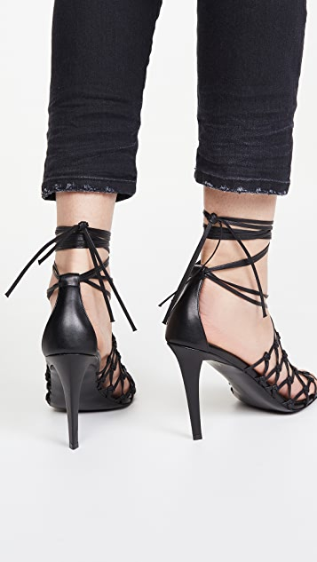 Stella McCartney 梭织凉鞋