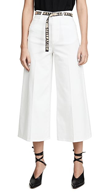 Stella McCartney Eco Dark Stone Blue Trousers