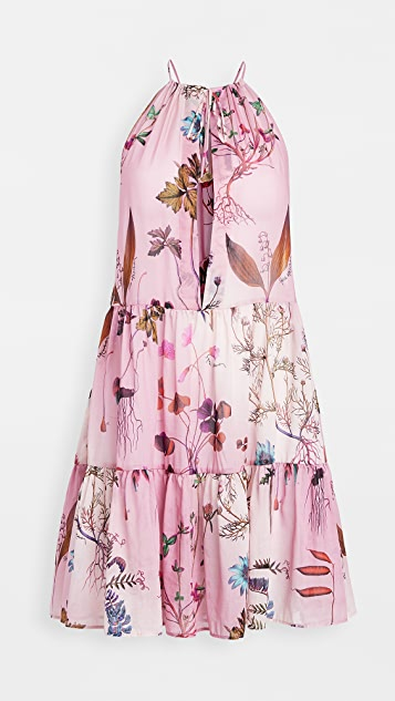 Stella McCartney Trippy Floral Short Dress