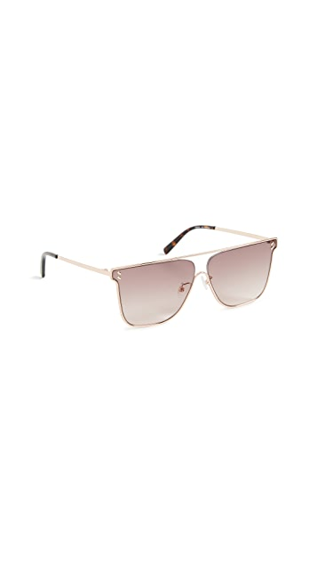 Stella McCartney Sunset Square Aviators