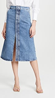 Stella McCartney Salt & Pepper 环保牛仔布半身裙