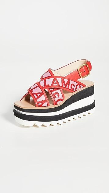 Stella McCartney Sneak Elyse Sandals