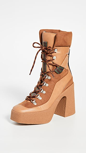 Stella Mccartney Boots Lace-Up Boots