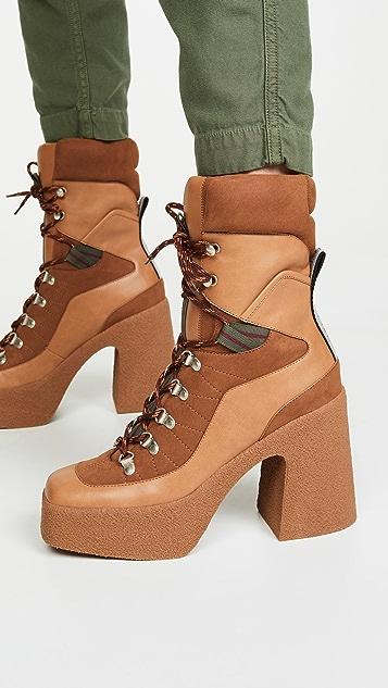 Stella McCartney Lace-Up Boots