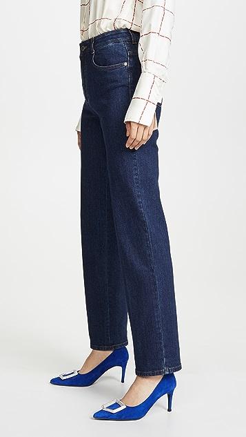 Stella McCartney Logo Cuff Jeans