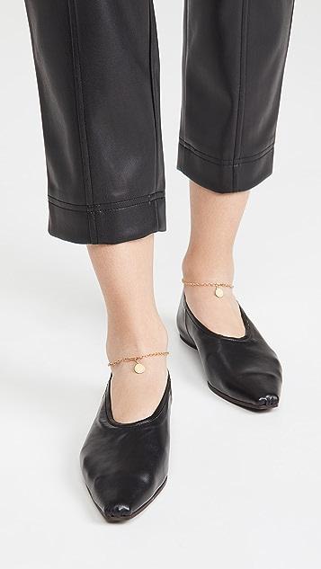 Stella McCartney Ballerina 踝链平底鞋