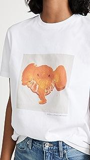 Stella McCartney Elephant Tangerine T 恤