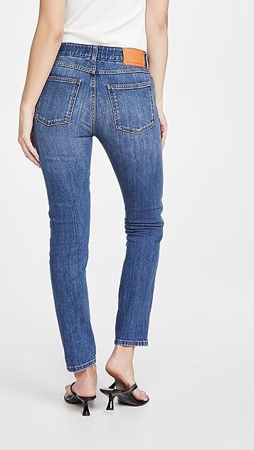 Stella McCartney Dark Stone Logo Jeans