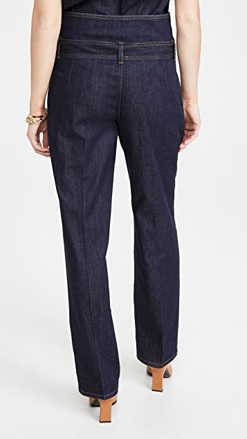 Stella McCartney Harley Denim Trousers Dark Indigo Wash