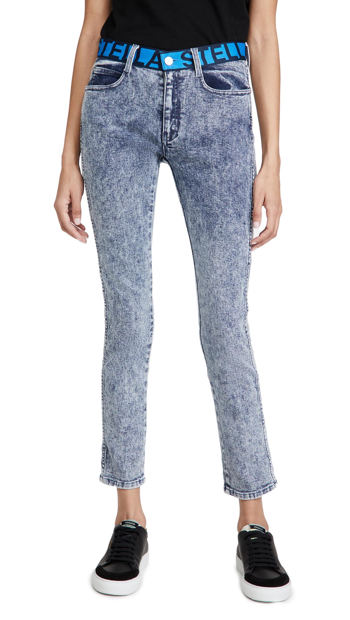 Stella Mccartney Mid-rise Skinny Boyfriend Jeans In Blue