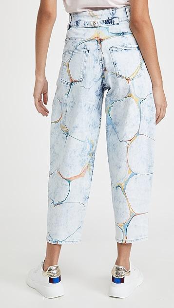 Stella McCartney 高腰直脚裤