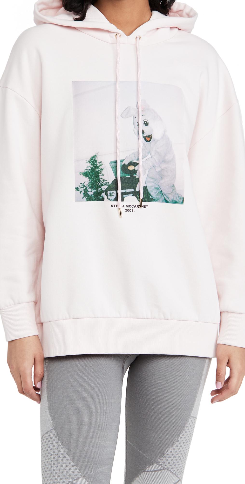 Stella McCartney Bunny Hoodie Sweatshirt