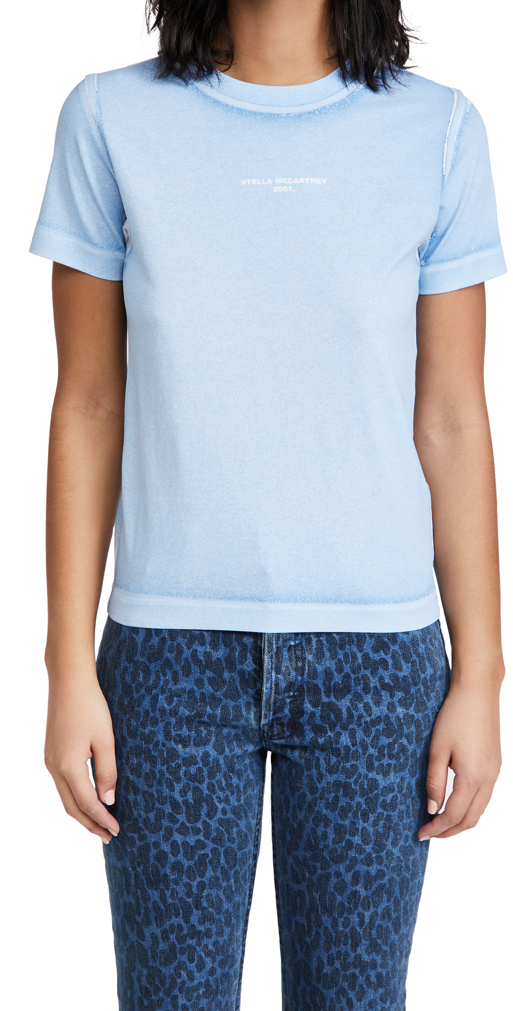 Stella McCartney T-Shirt Overprinted Color Shirt