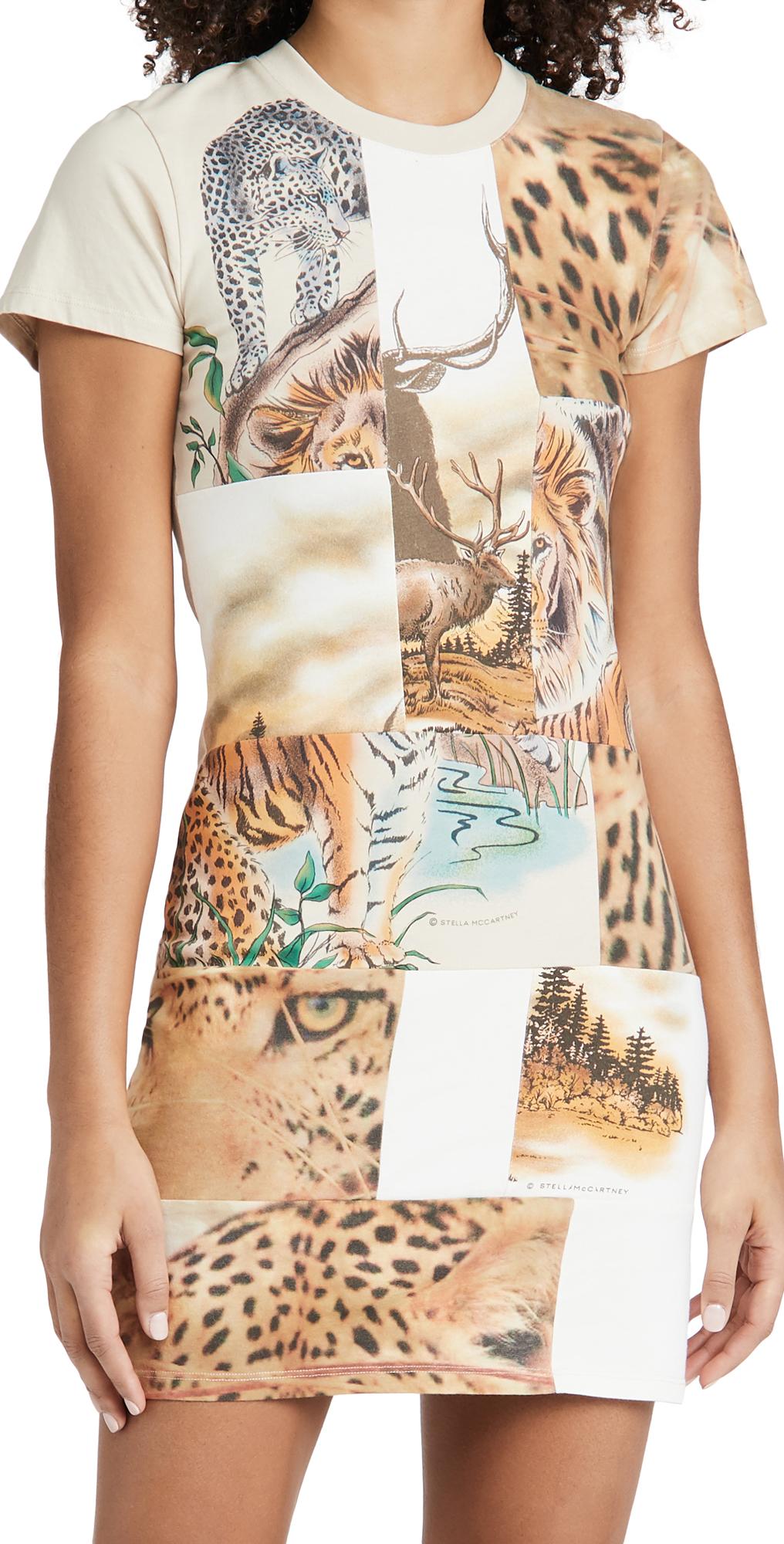 Stella McCartney Nature Patchwork Dress