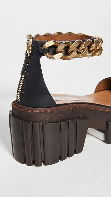 Stella McCartney Emilie 链条凉鞋