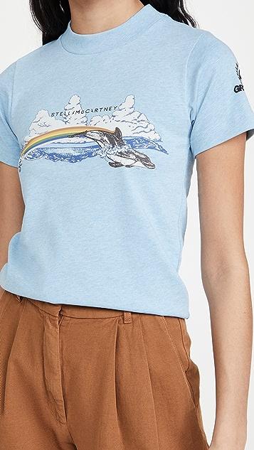 Stella McCartney 彩虹海豚 T 恤