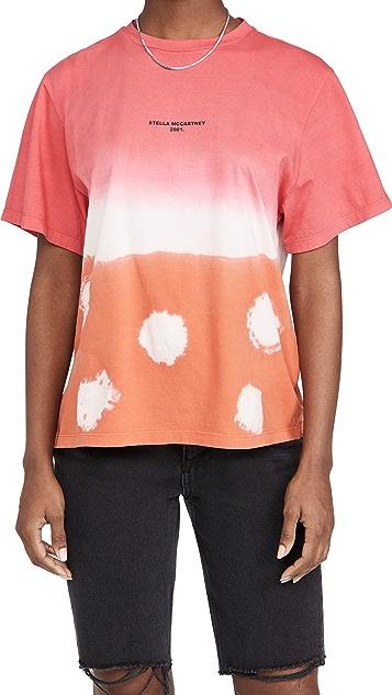 Stella McCartney Shibori Tie Dye T-Shirt