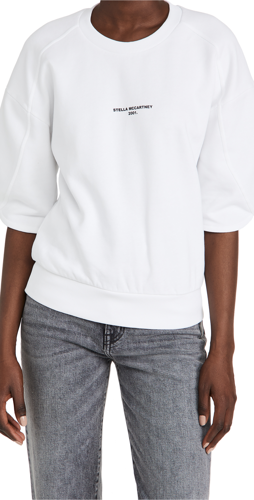 Stella Mccartney Stella Logo 2001 Sweatshirt In White