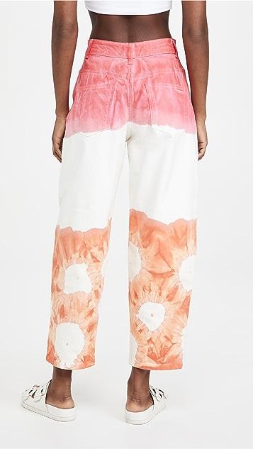 Stella McCartney 荧光色水洗长裤