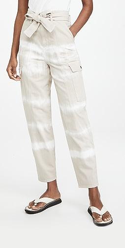 Stella McCartney - Bamboo Safari Tie Dye Trousers