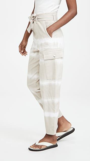 Stella McCartney Bamboo Safari Tie Dye Trousers