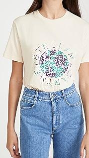 Stella McCartney QR Earth Print T 恤