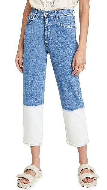 Stella McCartney 浸染褪色水洗长裤