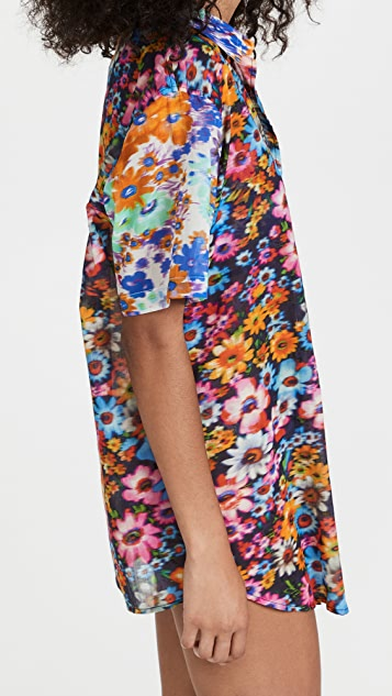 Stella McCartney Floral Print Shirt