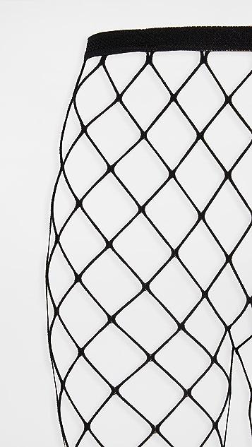 Stems New York Edit Sheer and Fishnet Tights