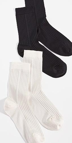 Stems - Classic Rib Socks - 2 Pack Offering