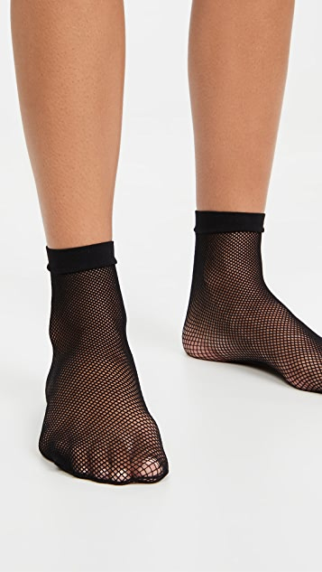 Stems Micro Fishnet Sneaker Socks