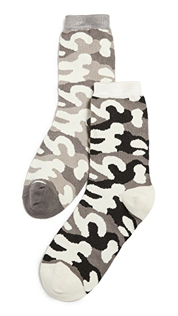 Stems Camo Socks Tall 2 Pack