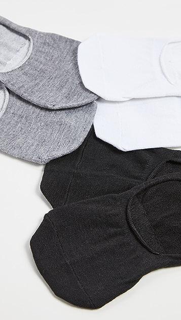 Stems 3 双装线形袜子