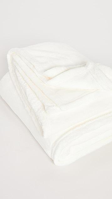 Stems Plush Cozy Throw Blanket