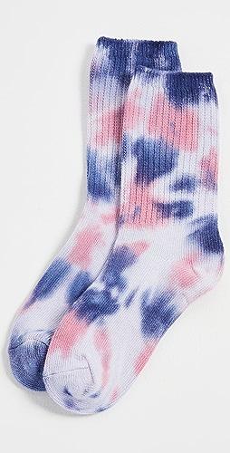 Stems - 扎染运动中筒袜