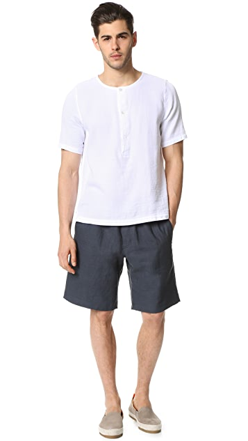 Steven Alan Patch Pocket Oversized Shorts