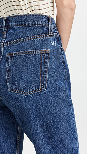 Still Here Worn In Classic Blue Childhood Jeans