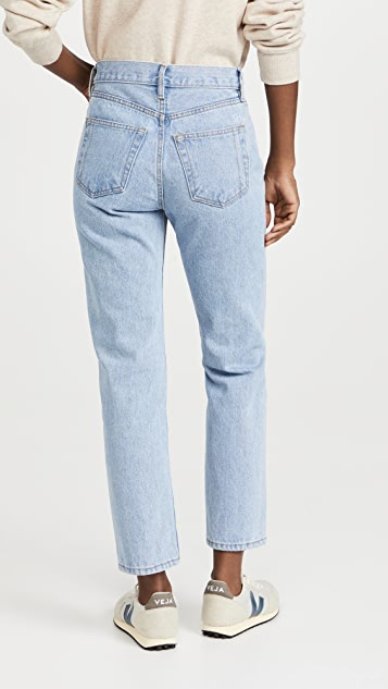 Still Here Tate Crop Original Vintage Blue Jeans